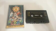 MANCHESTER UNITED FUTBOL FOOTBALL COMPLETO COMMODORE 64 128 CMB 64 C64 PAL