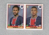 football sticker Neymar JR Kylian Mbappe PSG FIFA 365 2021 Panini #307