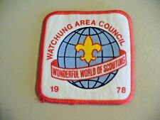 Boy Scouts - Watchung Area Council 1978 Patch - NEW