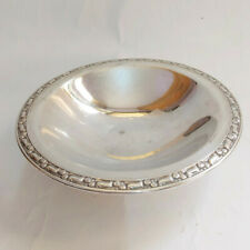 Vintage Oneida SilversMITHS Candy Dish Butter Bowl Beautiful Silver Plated