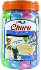 Inaba Churu Lickable Purée Wet Treat for Cats | Playful Hand Feed or as Food.