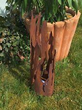 Windlicht * Treibholz * Fackel Laterne Edelrost Gartenfackel Feuerstelle 43cm S