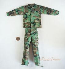 Dragon 1/6 Figur USA Army Marine NATO Woodland Camo Combat Suit Uniform DA298