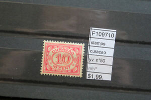 STAMPS CURACAO YVERT N°50 MH* (F109710)