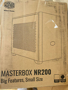 Cooler Master NR200 BLACK SFF Small Form Factor Mini-ITX Case with Vented Panel