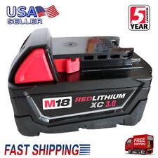 For Milwaukee 48-11-1852 M18 REDLITHIUM XC 5.0 Extended Capacity Battery Pack
