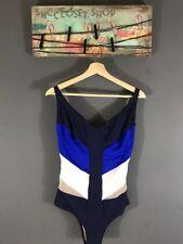 La Perla Swimsuit One Piece Multicolor Pattern Stretch Nylon Sz 38C NWT $360