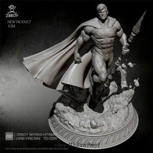 Superman Resin Kits Model Figure GK Unpainted Unassembled 75mm YUFAN MODEL