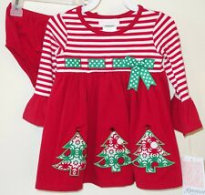 NWT Bonnie Baby Holiday Dress & Matching Diaper Cover Girl's Size 18 Month