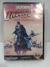 Indiana Jones and the Last Crusade (Sega Genesis, 1992) Complete