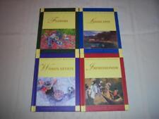 4 Books Australian Art Masters-Women Artists, Impressionism, Flowers,Landscapes