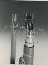 Fibre synthétique, télécommunications Vintage silver Print Tirage argentique