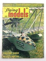 1972 Flying Models Hobby Airplane Builder Magazine Brandenburg W20 N184