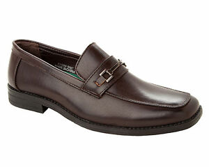 MENS BROWN CASUAL FORMAL OFFICE SMART WEDDING DRESS WORK SHOES UK SIZE 7-11
