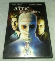 The Attic Expeditions DVD SETH GREEN, JEFFREY COMBS *HORROR *HALLOWEEN *RARE oop