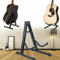 Samger Folding A-Frame Electric Guitar Stand Professional Musician's Gear Black