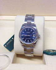 Rolex Datejust 178240 31 mm Azul batuta Dial-sin Uso-Caja Y Papeles - 2016