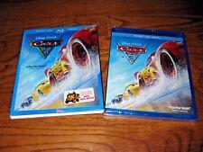 Cars 3: Disney PIXAR; Blu Ray + DVD + HD, 2017] Brand New +  Fast Free Shipping