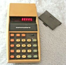 Vintage Commodore 887D LED Calculator