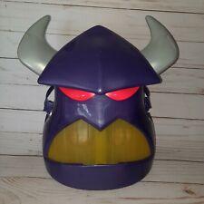 Evil ZURG TOY STORY Halloween Costume Mask Disney Light Up Microphone RARE WORKS