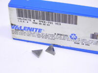 NEW SURPLUS 10PCS. VALENITE  TPEE 731  GRADE: VC3  CARBIDE INSERTS