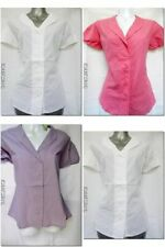 Patternless Cap Sleeve Tops & Shirts for Women