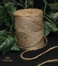 400 feet ~ Thin 2 Ply Natural Jute Twine ~ Craft Supply