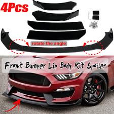 Front Bumper Lip Body Kit Spoiler For Ford Mustang 2000-2021