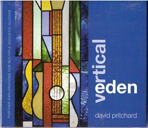 DAVID PRITCHARD Vertical Eden CD Explorations 4 Multiple Acoustic Guitars SEALED