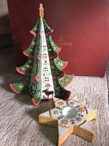 Villeroy Boch X-MAS Scandinavia Weihnachtsbaum Tannenbaum Christmas tree