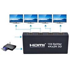 4K HDMI 1x4 Splitter Full HD 1080P Amplificador Interruptor 1 En 4 Para HDTV