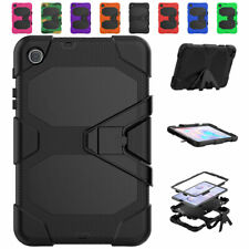 """Heavy Duty Armor Case For Samsung Tab A 8.4"""" T307 2020 w/ Screen Protector&Stand"""