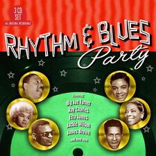 Various Artists : Rhythm & Blues Party CD Box Set 3 discs (2017) ***NEW***