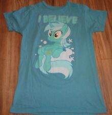 I Believe My Little Pony Girls T Shirt Size S Blue