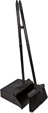 Dust Pan Lobby Broom Combo Set Compact Sweeping Clean Commercial DustPan Home