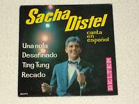"""SACHA DISTEL CHANTE EN ESPAGNOL DESAFINADO EDITION ESPAGNOL EP 7"""""""