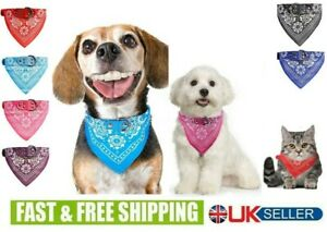 Dog Bandana Collar- Adjustable Cat Puppy Kitten Pet Neck Scarf Neckerchief