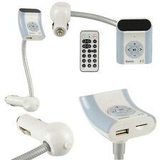 TRASMETTITORE FM BLUETOOTH LETTORE MP3 ACCENDISIGARI AUTO USB SCHEDA SD MUSICA