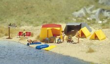 Busch 6026 'Camp Site' Plastic Kit - HO Scale - Tracked 48 Post