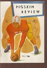 Vintage 1953 Minnesota at USC Trojans College Football Program w/ historic cover