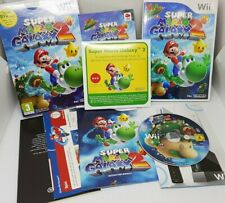SUPER MARIO GALAXY 2 - NINTENDO WII GAME - BOXED WITH BOOK AND SEALED BONUS DVD