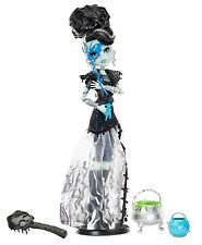 Monster High Frankie Stein Mega Monster fiesta/Ghouls rule coleccionista raramente x3714