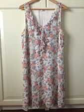 Women's White Floral Dress