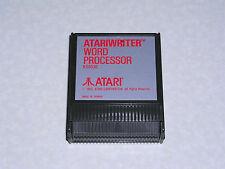 Atariwriter -RED TEXT - GREAT LABEL- Atari 400/800/XL/XE - WORKS & GUARANTEED!