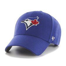 Toronto Blue Jays 47 Brand MVP Clean Strap Adjustable Field Blue Hat Cap MLB