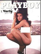Playboy néerlandais 01/2014 Marly van der Velden