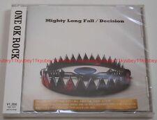 New ONE OK ROCK Mighty Long Fall Decision Rurouni Kenshin CD Japan F/S AZCS-2038
