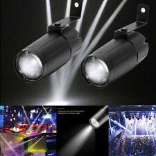 LED Punktstrahler Bühnenbeleuchtung Spiegekugel DJ KTV Lichteffekt PartyLicht 2X