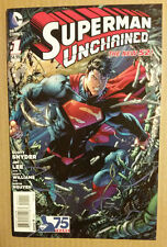 Superman Unchained #1 (August 2013, DC) 1st print Standard cover unread
