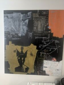 "Jean-Michel Basquiat ""Untitled"" (Queen Gold) 1984+""Untitled"" (Queen Green) 1984"